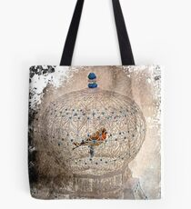 Bird in a gilded cage Tote Bag