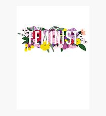 Fem Flowers  Photographic Print