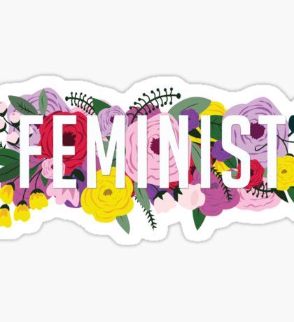 Fem Flowers  Sticker