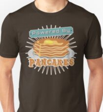 Powered by Pancakes Unisex T-Shirt