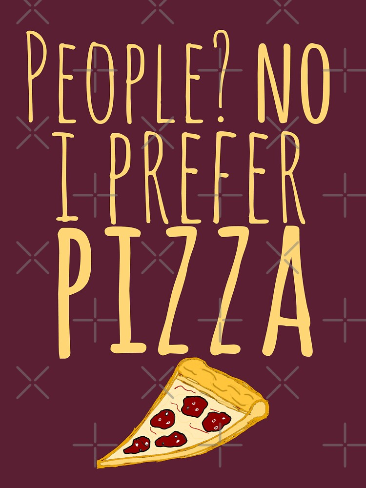 People? no. I prefer pizza. by FandomizedRose