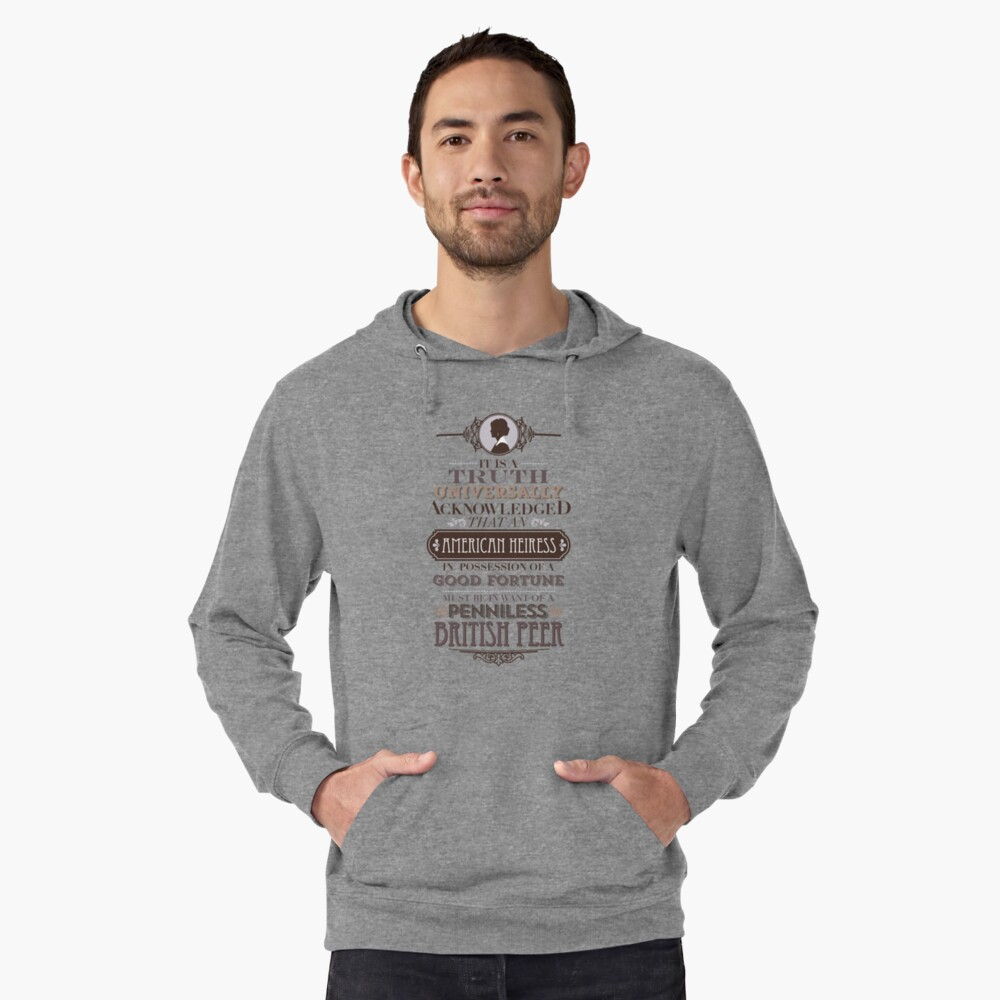 The Loaded American Heiress Lightweight Hoodie Front
