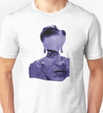 FRIDA Kahlo - between worlds - blue Unisex T-Shirt
