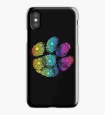 Rainbow Paw iPhone Case/Skin
