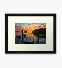 Sundown by HH Photography of Florida Framed Print