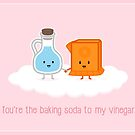 Love, Vinegar, and Baking Soda by mykowu