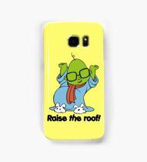 Muppet Babies - Bunsen - Raise The Roof - Black Font Samsung Galaxy Case/Skin