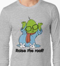 Muppet Babies - Bunsen - Raise The Roof - Black Font Long Sleeve T-Shirt