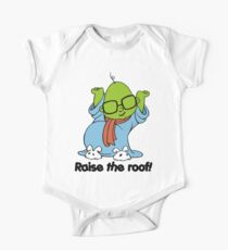 Muppet Babies - Bunsen - Raise The Roof - Black Font One Piece - Short Sleeve