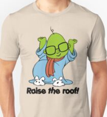Muppet Babies - Bunsen - Raise The Roof - Black Font T-Shirt