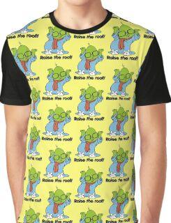 Muppet Babies - Bunsen - Raise The Roof - Black Font Graphic T-Shirt