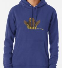 Yawning Baby Griffin Pullover Hoodie