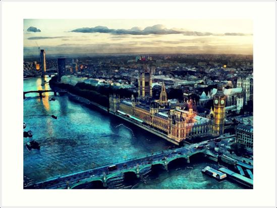 London city by JBJart