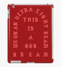 Ultralight Beam - Red iPad Case/Skin