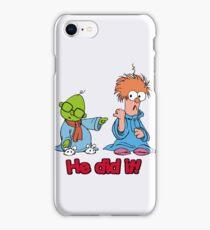 Muppet Babies - Bunsen & Beeker - He Did It! iPhone Case/Skin