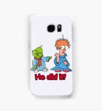 Muppet Babies - Bunsen & Beeker - He Did It! Samsung Galaxy Case/Skin