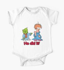 Muppet Babies - Bunsen & Beeker - He Did It! One Piece - Short Sleeve