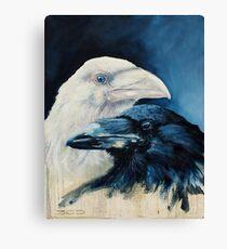 A Portrait of Dagaz and Laguz Canvas Print