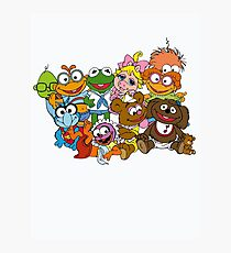 Muppet Babies - Group Photographic Print