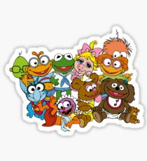 Muppet Babies - Group Sticker