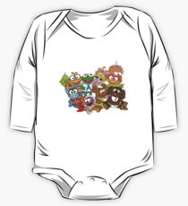 Muppet Babies - Group Long Sleeve Baby One-Piece