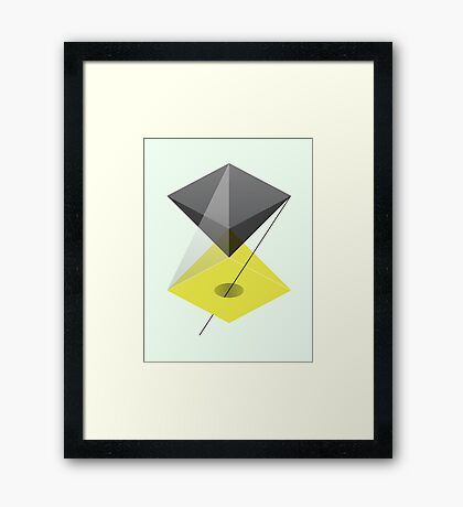 It's a matter of perspective. Framed Print