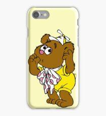 Muppet Babies - Fozzie Bear - Sucking Thumb iPhone Case/Skin