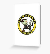 The Fighting Walkers with Logo Greeting Card