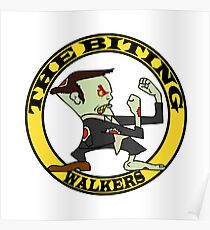 The Fighting Walkers with Logo Poster
