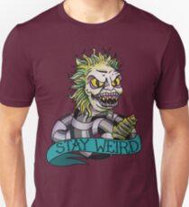 Beetlejuice - STAY WEIRD T-Shirt