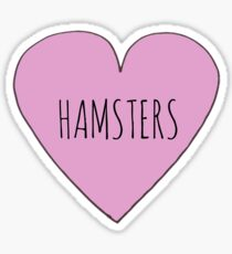 Hamster Love Sticker