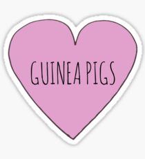 Guniea Pig Love Sticker