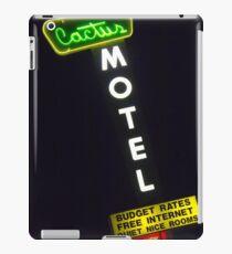 Cactus Motel on Route 66 iPad Case/Skin