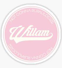 WILLAM Sticker