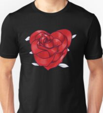 Heart rose Unisex T-Shirt