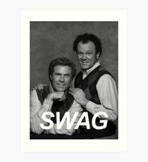 Step Brothers Swag Art Print
