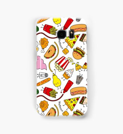 Kawaii junk food pattern! Samsung Galaxy Case/Skin
