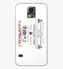 Simon Lewis Quote- The Mortal Instruments Case/Skin for Samsung Galaxy