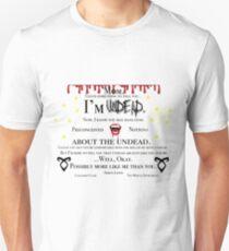 Simon Lewis Quote- The Mortal Instruments T-Shirt