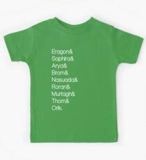 Character List Eragon Alternate Kids Clothes
