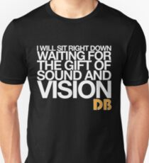 """Sound and Vision"" Unisex T-Shirt"