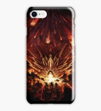 Chrono Trigger: Fire Rains from the Heavens [Chronicles of Time] iPhone Case/Skin