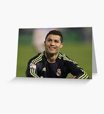 Ronaldo smile Greeting Card
