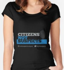 Citizens Not Suspects Women's Fitted Scoop T-Shirt