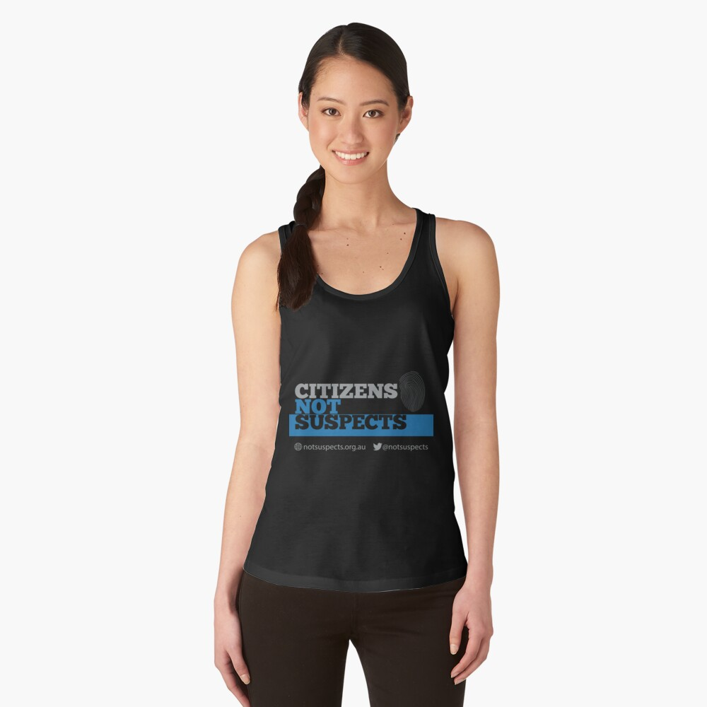 Citizens Not Suspects Women's Tank Top Front