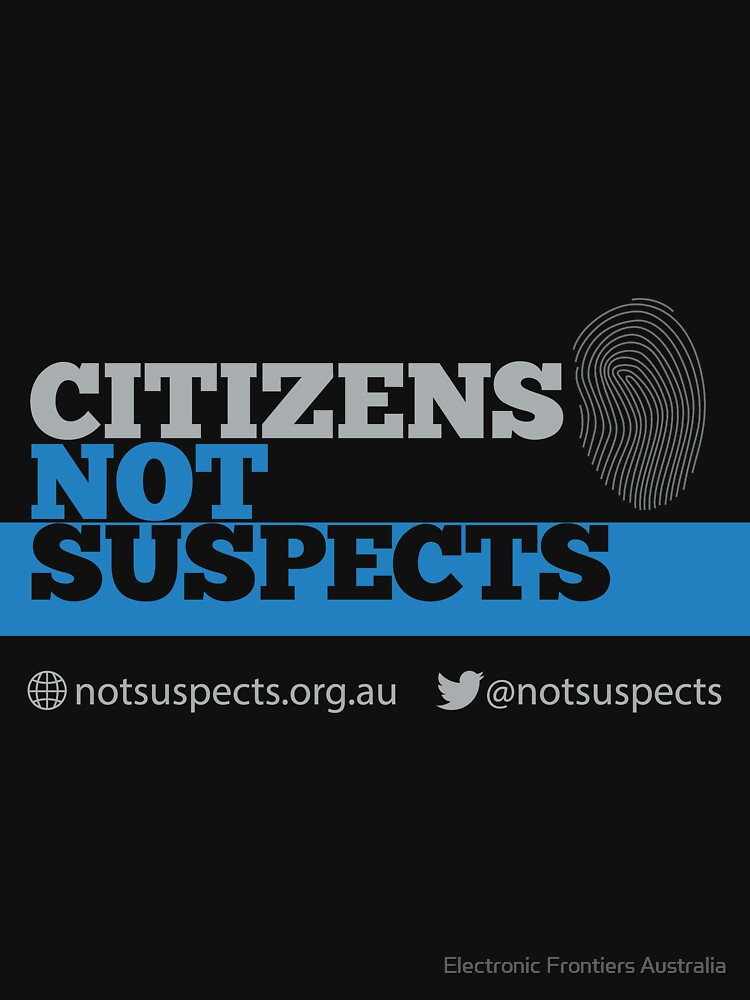 Citizens Not Suspects by efau