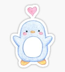 Sweet Little Penguin  Sticker