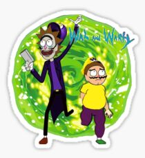 Wah and Warty Sticker
