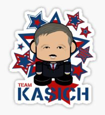 Team Kasich Politico'bot Toy Robot Sticker