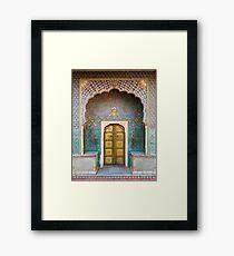 Golden Door Framed Print
